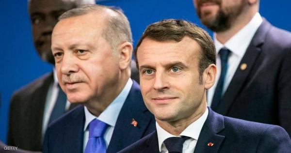 """1 1316734 - """"أردوغان"""" يقلب الطاولة على """"ماكرون"""" في شرق المتوسط"""