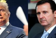 """صورة تصريح """"مثير للشفقة"""" من النظام السوري حول اعتراف """"ترامب"""" الصريح بالتفكير في اغتيال بشار الأسد"""