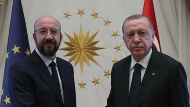 صورة أردوغان يدعو أوروبا للحياد في شرق المتوسط