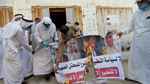 1599915150 8825673 4762 2681 34 67 - إعلان تطبيع البحرين.. ردود فعل بحرينية وعربية شعبية رافضة