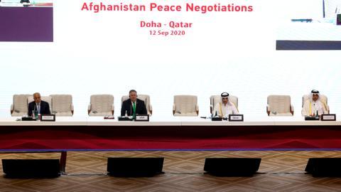 """1599943443 8831914 4861 2737 13 4 - السلام الأفغاني.. بومبيو يلتقي وفد """"طالبان"""" في الدوحة"""