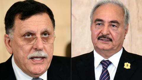 1600148276 5802667 3168 1784 15 105 - الحكومة الليبية تنفي عقد لقاء مرتقَب بين السراج وحفتر بباريس