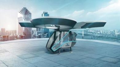 """صورة شاهد.. أول اختبار ناجح لنموذج """"السيارة الطائرة"""" التركية محلية الصنع"""