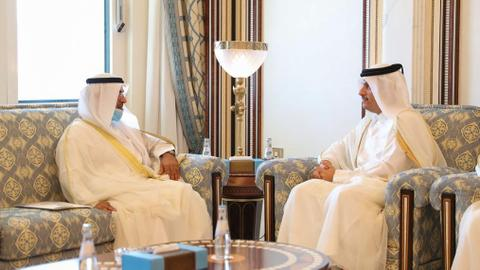 """1600604616 8905901 1013 571 8 130 - هل تنتهي الأزمة الخليجية قريباً؟.. أمين عام """"التعاون الخليجي"""" يزور الدوحة"""