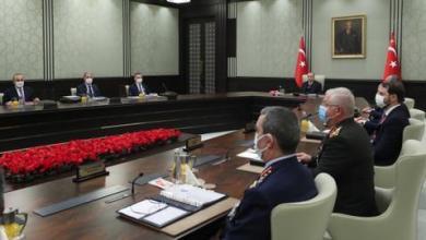 صورة مجلس الأمن القومي التركي يدعم الحوار لتقاسم ثروات شرقي المتوسط