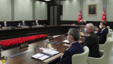 مجلس الأمن القومي التركي يدعم الحوار لتقاسم ثروات شرقي المتوسط