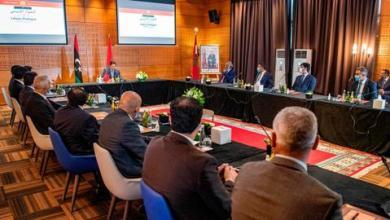 صورة وصول وفدَي الحوار الليبي استعداداً لانطلاق جولة الحوار الثانية بالمغرب
