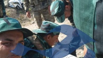 """صورة مصادر خاصة لـ""""جسر"""": مقتل عشرة عناصر سوريين في معارك """"أذربيجان"""" اليوم"""