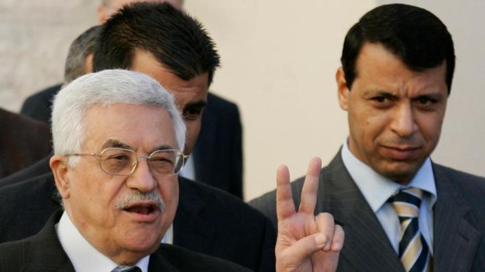 محمد دحلان قيادي مفصول من حركة فتح وهارب إلى الإمارات بعد خلافات مع الرئيس الفلسطيني محمود عباس