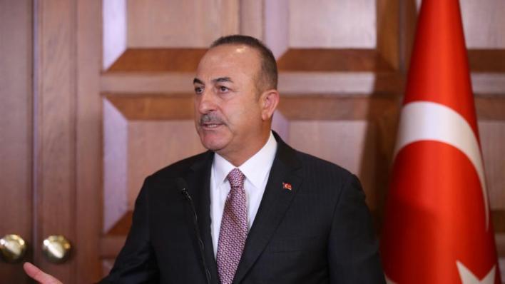 وزير الخارجية التركي يقول إنتركيا مستعدة للمفاوضات دون شروط مسبقة، ويمكنها التفاوض والتباحث مع الجميع