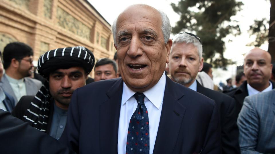 المبعوث الأمريكي الخاص إلى أفغانستان زلماي خليل زاد قالإنها فرصة تاريخية لإنهاء حرب مستمرة منذ 40 عاماً