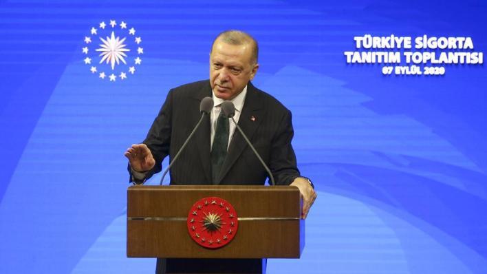 أردوغان:لن نسمح لمن يتغذى من الفوضى والأزمات بنهب رزق أمتنا وموارد بلادنا