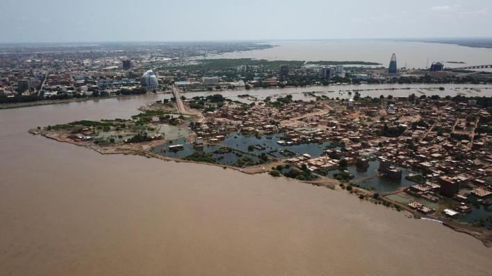 مكتب الأمم المتحدة لتنسيق الشؤون الإنسانية (أوشا) أعلن أنّ أكثر من نصف مليون سوداني تضرّروا من الفيضانات
