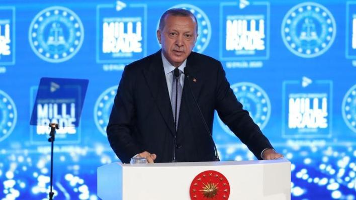 أردوغان قال إن فرنسا تحاول من خلال قوى الوصاية التابعة لها دخول ليبيا من أجل السيطرة على النفط