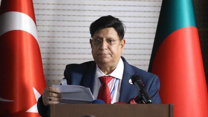 وزير الخارجية البنغالي أبو الكلام عبد المؤمن يثمّن جهود تركيا في دعم بلاده خلال أزمة لجوء مسلمي أراكان إلى بنغلاديش