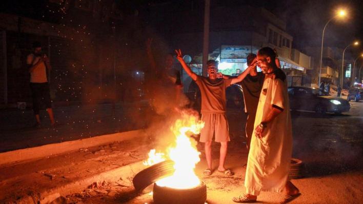 الاحتجاجات الشعبية شرقي ليبيا تدفع حكومة الشرق غير المعترف بها دولياً إلى تقديم استقالتها