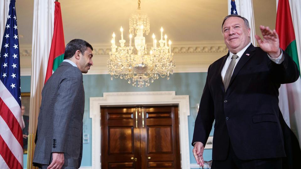 تأمل إدارة الرئيس الأمريكي دونالد ترمب في الاستفادة من الاتفاقيات التي وقعت هذا الأسبوع بين إسرائيل والإمارات والبحرين، بالضغط من أجل إنهاء النزاع بين دول الخليج