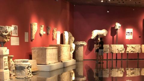 8885009 2993 1685 3 570 - إلى عشاق الآثار.. متحف أنطاليا يعرض لكم آلاف المقتنيات التاريخية