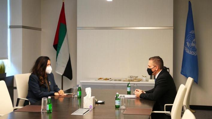 تناول الاجتماع حسب جلعاد إردان التعاون بين البلدين لتوسيع فوائد السلام في الشرق الأوسط