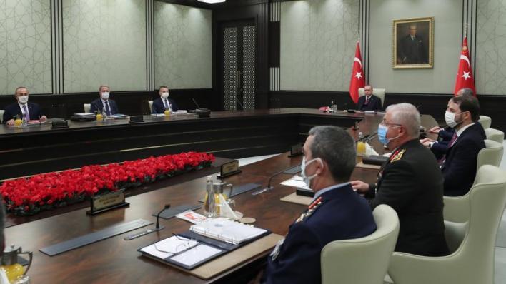 مجلس الأمن القومي التركي يدعو المجتمع الدولي لاتخاذ خطوات ملموسة ضد التنظيمات الإرهابية والكيانات غير المشروعة
