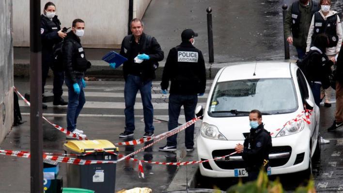 """8966656 4128 2324 38 3 - 4 إصابات في هجوم قرب المقر السابق لصحيفة """"شارلي إيبدو"""" الفرنسية"""