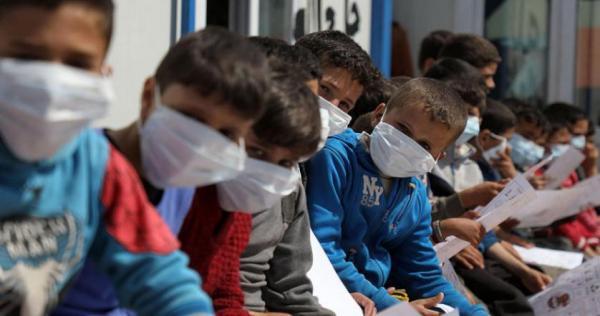afp 1px88d - ارتفاع أعداد مصابي فيروس كورونا بالمناطق المحررة شمال سوريا