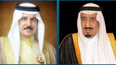 صورة بعد ساعات من إعلان التطبيع.. رسالة سرية من ملك البحرين للعاهل السعودي