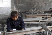 صورة السفارة الأمريكية في دمشق: نظام الأسد دمر آلاف المدارس منذ 2011