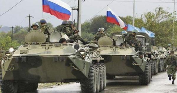 russian military syria 18 - روسيا تدفع بتعزيزات عسكرية إلى دير الزور تمهيدًا لعملية مرتقبة