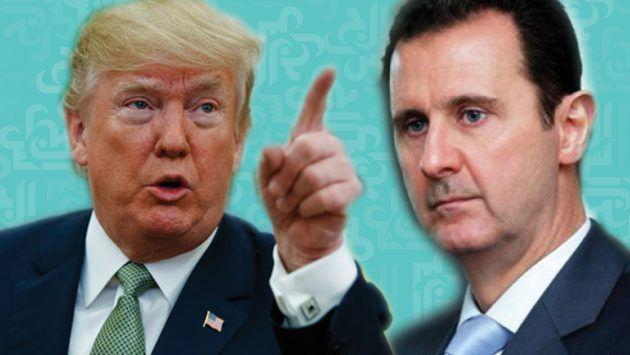وترامب - ترامب يعلن تمديد حالة الطوارئ الوطنية المتعلقة بسوريا