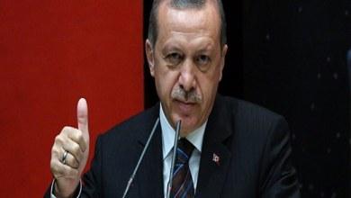 صورة أردوغان يؤكد على أحقية تركيا بالتدخل في القضية السورية
