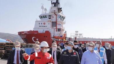 """صورة خلال 2021.. سفينة """"القانوني"""" تنضم إلى """"الفاتح"""" للتنقيب في البحر الأسود"""