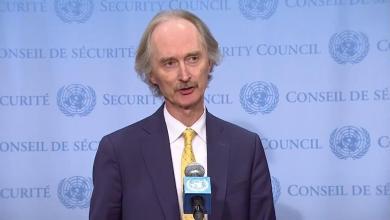 صورة بيدرسون في سوريا لمناقشة استئناف عمل اللجنة الدستورية