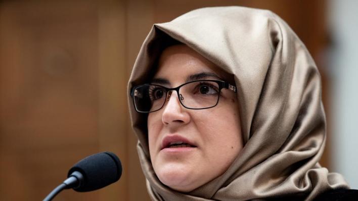 جنكيز تقيم دعوى أمام محكمة أمريكية تتهم فيها وليّ العهد السعودي بقتل خطيبها جمال خاشقجي