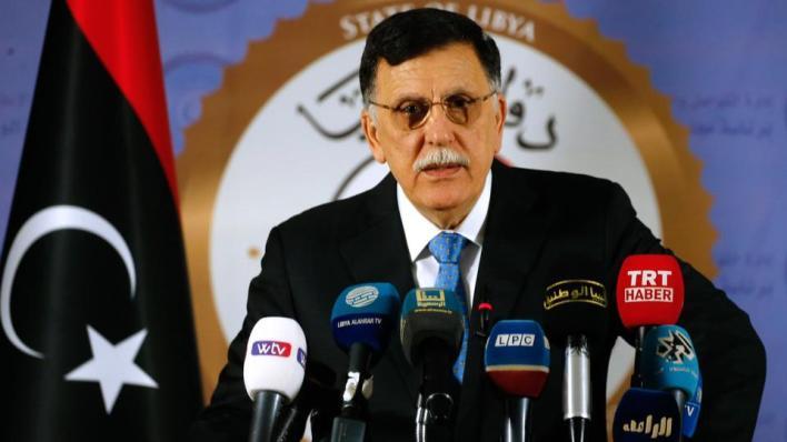 رئيس المجلس الرئاسي الليبي فائز السراج يعلن استجابته لدعوات طالبته بالتراجع عن قراره الاستقالة من منصبه