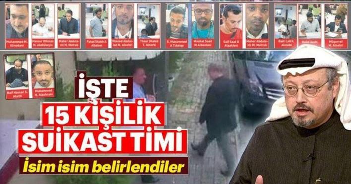 صور نشرتها وسائل إعلام تركية لمشتبهين في تنفيذ عملية اغتيال خاشقجي
