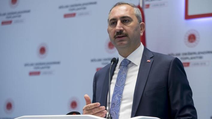وزير العدل التركي يؤكد أن قرار المحكمة الأوروبية لحقوق الإنسان سياسي