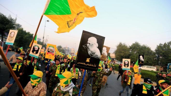 """5725023 5132 2890 6 90 - فصائل عراقية مسلحة تتفق على """"هدنة مشروطة"""" لوقف الهجمات على القوات الأمريكية"""