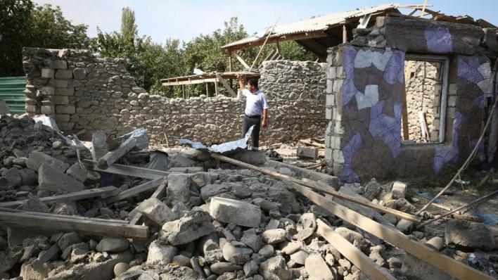 الجيش الأرميني يستهدف الأماكن المأهولة بالسكان