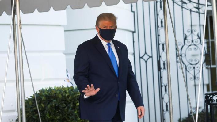 9090795 5713 3217 28 191 - البيت الأبيض يعلن تحسُّن صحة ترمب ويتوقع مغادرته المشفى