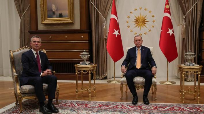 أردوغان يقول إن حلف الناتو عليه أن يُظهِر تضامناً ملموساً مع تركيا