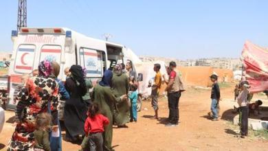 صورة كيف تخفّف العيادات المتنقلة في الشمال السوري مأساة الطبابة في زمن كورونا