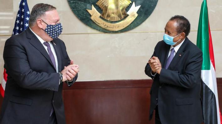بومبيو أول مسؤول أمريكي رفيع يزور السودان من أكثر من عقدين