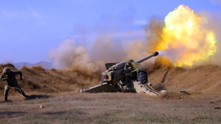 الجيش الأذربيجاني يواصل عملياته العسكرية لتحرير أراضيه المحتلة من أرمينيا
