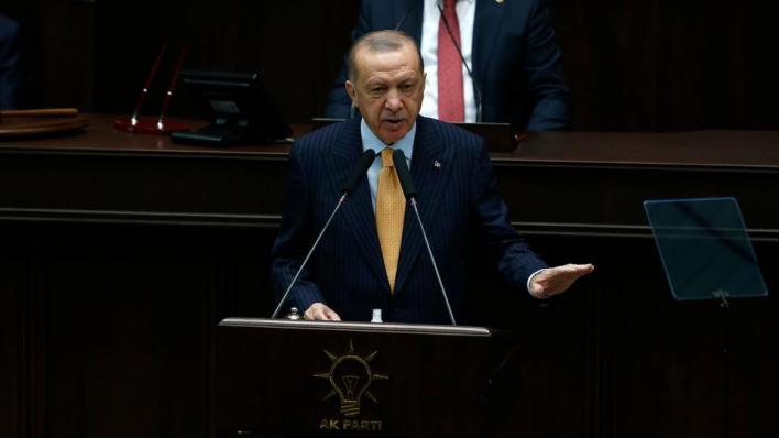 الرئيس التركي يؤكد أن المسلم لا يكون إرهابياً والإرهابي لا يكون مسلماً