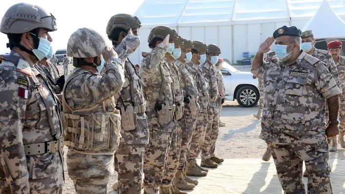 اختتمت القوات المسلحة القطرية بمشاركة نظيرتها التركية تمرين
