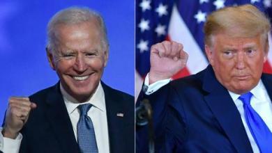 صورة الانتخابات الأمريكية.. 264 صوتاً لبايدن مقابل 214 لترمب مع استمرار الفرز