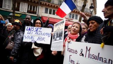 صورة اعتداء عنصري على متجر لمواطن تركي في فرنسا