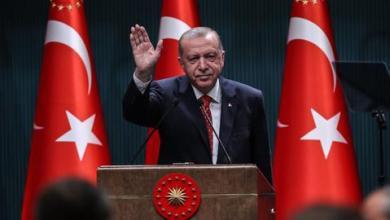 """صورة أردوغان يهنئ الأذربيجانيين بتحرير """"شوشة"""" من الاحتلال الأرميني"""