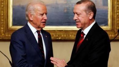 صورة أردوغان يهنئ بايدن بالفوز في الانتخابات الرئاسية الأمريكية